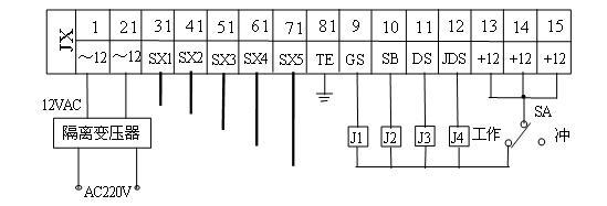 sx21l0应用电路图